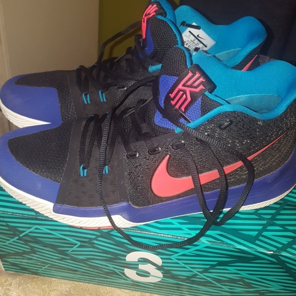 competitive price 10151 3ce78 Kyrie 3 Black/Orange/Purple/Blue shoes Size 11